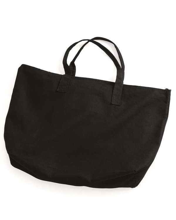 Tote with Top Zippered Closure